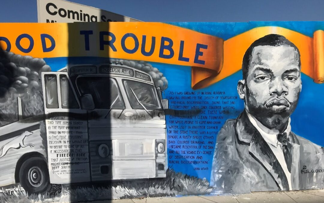 GoFundMe – Refurbish Vandalized John Lewis Memorial